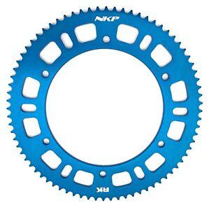 RK Kettenblatt Ritzel - hohe Qualität - Farbe blau