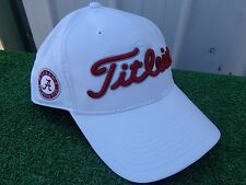 Titleist Alabama Crimson Tide Performance Adjustable Snap Back Golf Hat Cap NEW