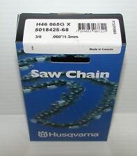 "Husqvarna Saw Chain 5018425-68 3/8"" .050"" H46 068G X"