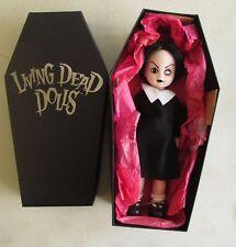 2000 Mezco Toyz Living Dead Dolls Sadie Doll In Coffin Shaped Box