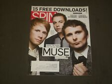 2009 SEPTEMBER SPIN MAGAZINE - MUSE COVER - GREAT PHOTOS - B 2085