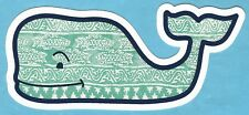 NEW AUTHENTIC VINEYARD VINES BATIK FISH WHALE STICKER DECAL