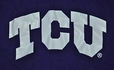 T-SHIRT 2XL 2XLARGE TEXAS CHRISTIAN UNIVERSITY TCU HORN FROGS FOOTBALL SHIRT
