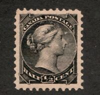 #34  Canada Victoria 1882 1/2 Cent stamp MNH  -  VF - superfleas  cv $75