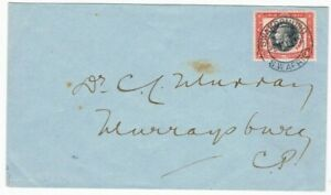 1935 Silver Jubilee South West Africa 1d on a local cover