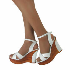 Wedge Patternless Standard Width (B) Heels for Women
