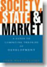 Society, State and Market: A Guide to Competing Theories of-ExLibrary