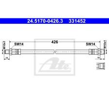 Bremsschlauch - ATE 24.5170-0426.3