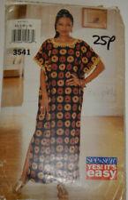 sewing pattern kaftan jelaba