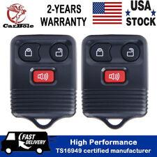 2 Remote Car Key Fob For Ford F-150 1999 2000 2001 2002 2003 2004 2005 2006 2007
