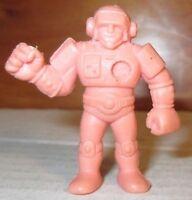 "Men Kinnikuman Neon Orange Color 2/"" Black Tomahawk #145 Mattel 80s M.U.S.C.L.E"
