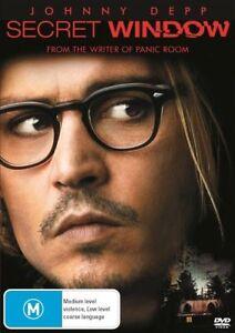 Secret Window DVD - Johnny Depp, Region 4 - Brand new sealed!