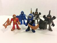 Fisher-Price Imaginext Lot of 5 Knights Castle Figures Acessories