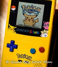 NINTENDO GAME BOY COLOR SPECIAL PIKACHU EDITION CONSOLE ONLY ~ *MINT CONDITION*