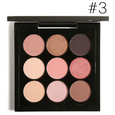 FOCALLURE 9 Color Matte Eye Shadow Makeup Cosmetic Shimmer Palette Eyeshadow UK