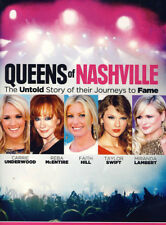 NEW Queens of Nashville (DVD CARRIE UNDERWOOD FAITH HILL TAYLOR SWIFT MOVIE
