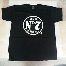 Men's Original Jack Daniels No 7 Brand T-shirt Size L - NEW -