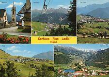 Alte Postkarte - Serfaus - Fiss - Ladis - Tirol