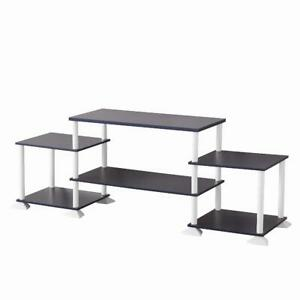"""Mainstays No-Tool Assembly 3-Cube Entertainment Center for TVs up to 40"""", Multip"""