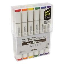 Too Copic Sketch basically C 12 Colors Marker Set for Manga Anime With Tracking