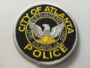 Atlanta Georgia  Police Patch