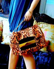Brand New JIMMY CHOO Leopard Print  Kid Hair /Wild Cat Bag(the bag of a year)