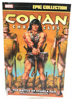 Conan Chronicles Epic Collection Battle Of Shamla Pass Marvel Comics New TPB