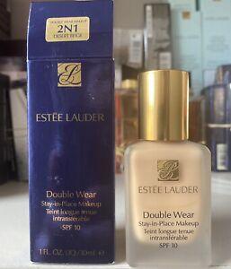 Estée Lauder double wear foundation, Stay In Place  2n1 Desert Beige  30ml Spf10