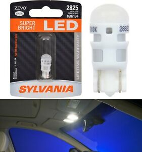 Sylvania ZEVO LED light 2825 White 6000K One Bulb Dashboard Gauge Cluster Lamp
