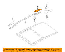 KIA OEM Sorento Roof Rack Rail Luggage Carrier-Rail Cover Left 872612P500FBM
