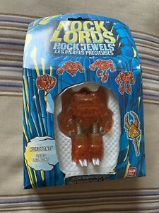 ROCK LORDS ROCK JEWELS SUNSTONE BANDAI VINTAGE 1986 TOY NEW/BOXED 77016 GOBOTS