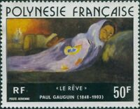French Polynesia 1976 Sc#C137,SG226 50f The Dream painting MNH
