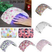Professional SUN 36W UV LED Lamp Nail Dryer Polish Nail Light Gel Machine MZ