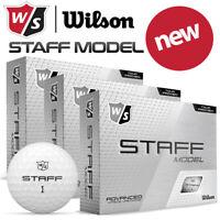 Wilson Staff Model Golf Balls White Dozen Pack - NEW! 2020 **MULTI-BUY**