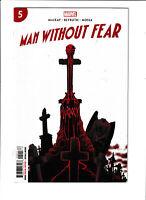 Man Without Fear Daredevil #5 NM- 9.2 Marvel Comics Matt Murdoch 2019