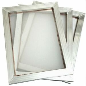 A3 Screen Printing Aluminium Frame Stretched And White Silk Print Polyester Mesh