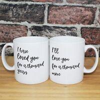 Personalised Gift Mug Christina Perri A Thousand Years Valentines Day Gift Idea