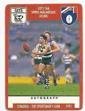 """1991 Stimorol (107) Spiro MALAKELLIS Geelong """" """""""