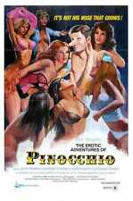 Erotic Adventures Of Pinocchio Poster 01 A3 Box Canvas Print