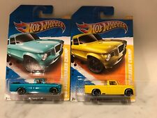 HOT WHEELS 2011 NEW MODELS SERIES '63 STUDEBAKER CHAMP Blue & Yellow