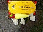 Luhr-Jensen ANNIVERSARY WOOD  NIP-I-DIDDEE WHT/RED HEAD 563-058-0906 5/8 OZ (DC)