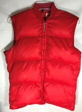 Men's Gerry Red Goose Down Vest - Size M