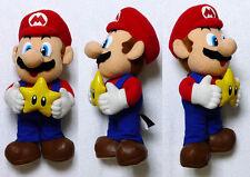 "Mario Party MARIO with Star 11"" DX Plush JAPAN 2000 UFO Banpresto Bros Mega RARE"