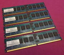Memoria RAM velocità bus PC2-3200 (DDR2-400) per prodotti informatici da 1GB da 4 moduli