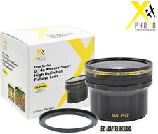 XIT HD Xtreme Super FishEye LENS 0.14X FOR CANON T4i T3i T2i 6D 18-55MM 28-105MM