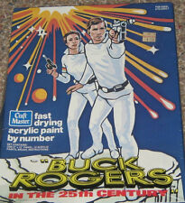1979 Buck Rogers  Paint by Number Kit NEW MISB HTF Rare