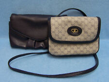 Dover Blue Clutch Purse &  Solid Blue Clutch Wallet  Lot of 2