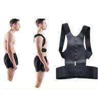 Posture Corrector Brace Shoulder Back Support Pain Relief Belt Magnetic Strap