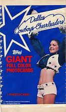 DALLAS COWBOYS CHEERLEADERS PHOTOCARDS 1981 TOPPS LOT OF 19 UNOPENED PACKS