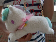 Sanrio Little Twin Stars Unicorn White Plush Wallet &Coin Purse& Mini Bag NEW
